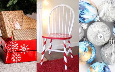 3 manualidades fáciles para decorar tu casa en Navidad