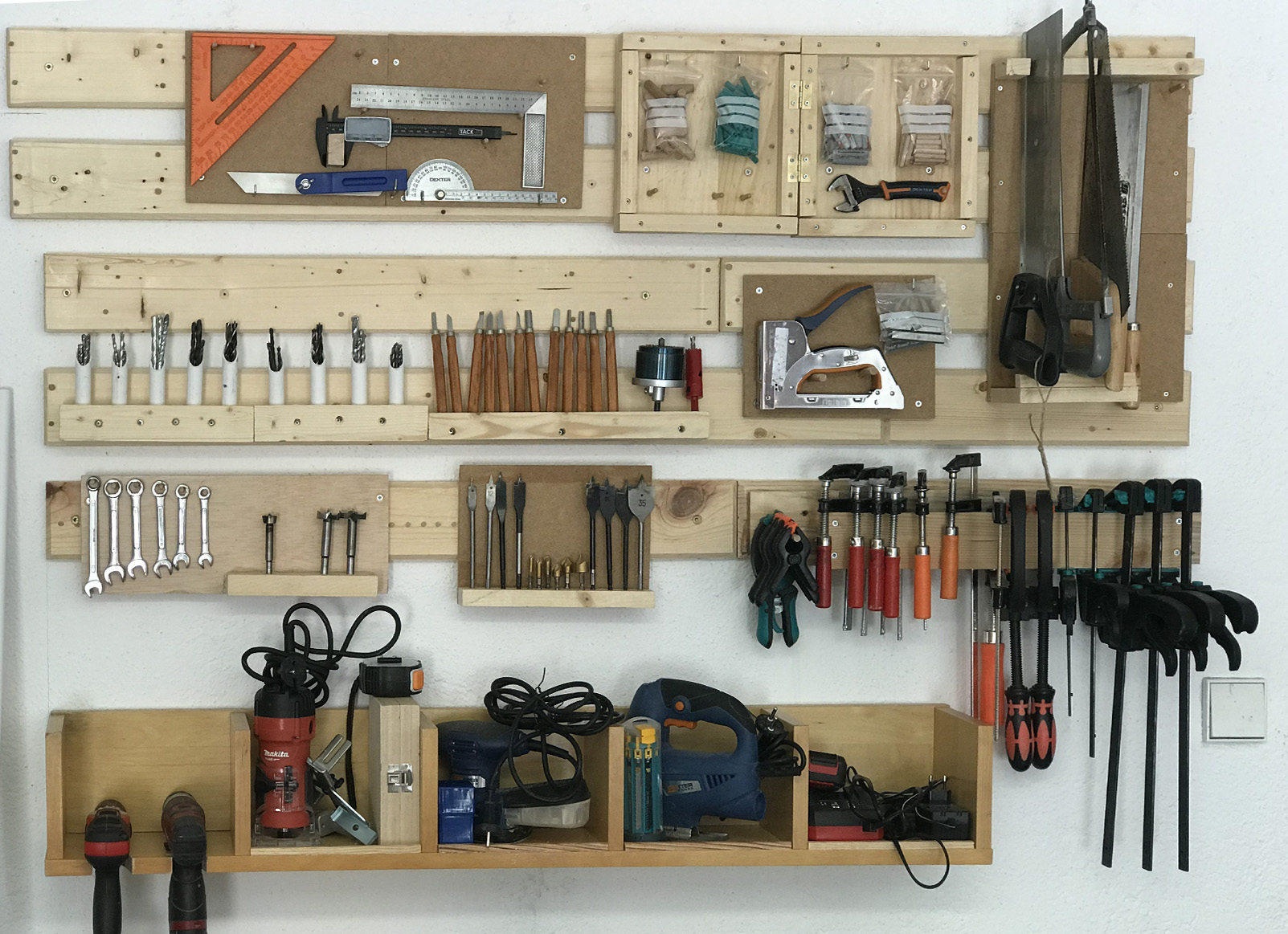 Cómo hacer un panel de herramientas casero para el Día del Padre