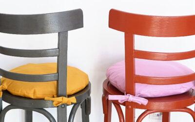 Aprende a pintar sillas de madera con pintura a la tiza chalk paint