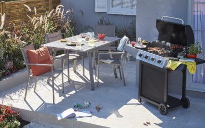 5 elementos para decorar tu terraza y disfrutar de una comida al aire libre