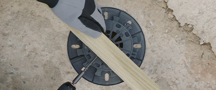 Como instalar suelo exterior de composite o madera